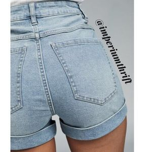 Cotton On High Classic 91 Denim Shorts 6